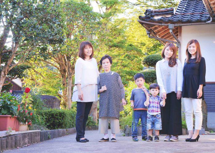 鳥取で家族の写真やポートレートを撮影してます3