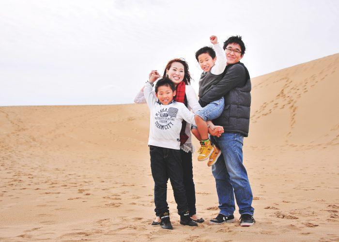 鳥取で家族の写真やポートレートを撮影してます4